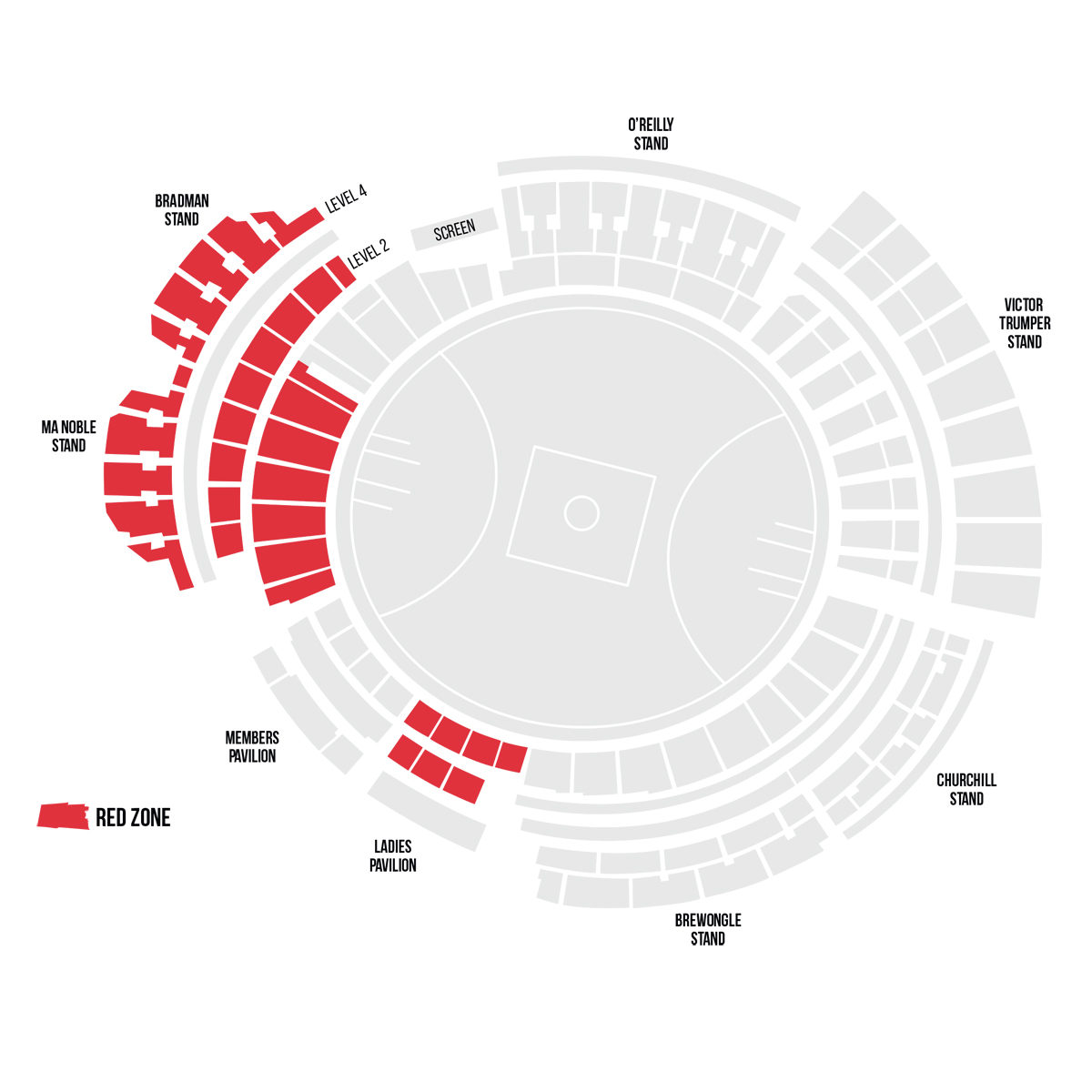 Scg Seating Map Sydney Swans | Facebook